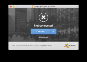 avast! SecureLine VPN 2